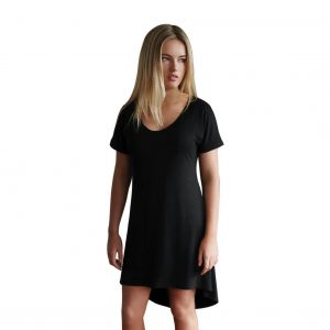Black My Tan Dress