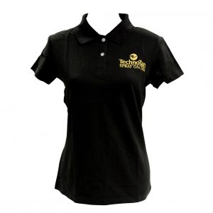 Ladies TechnoTan Polo Shirt - Black