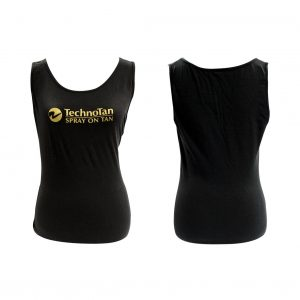 Ladies TechnoTan Tank Top - Black
