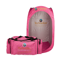 Insulated Cooler Bag & Pink Pop Up Booth Combo - Pink