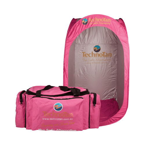Pink Insulated Cooler Bag & Pink Pop Up Booth Combo