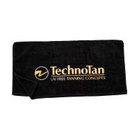 Black Towel (TT logo) — Extra Large (750mm X 1440mm)