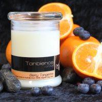 Berry Tangerine — Round Jar Candle