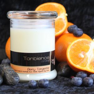Berry Tangerine — Round Jar Candle
