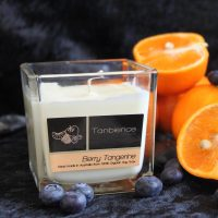 Berry Tangerine — Square Jar Candle