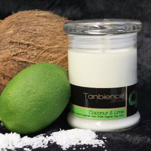 Coconut & Lime — Round Jar Candle