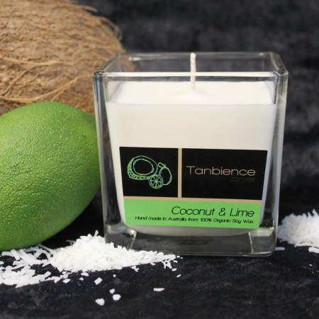 Tanbience Coconut & Lime — Square Jar