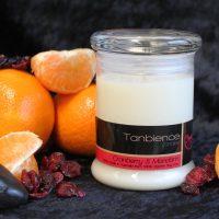 Cranberry & Mandarin Candles
