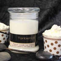 French Vanilla Ice Cream Candles