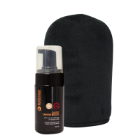 Choc Fudge Style Mousse and Deluxe Mitt Kit - 100mL