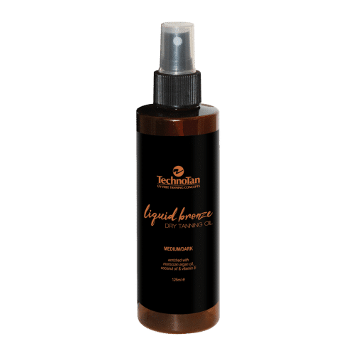 Liquid Bronze Dry Tan OIl - 200ml (spray bottle)