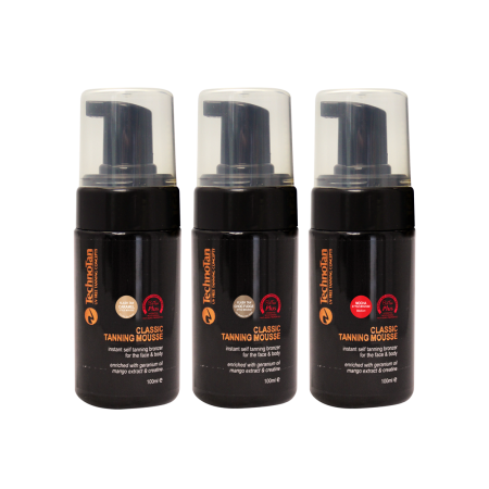 Mousse Trio Pack - 100ml (pump bottle)