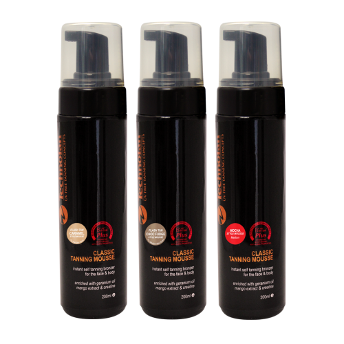 Mousse Trio Pack - 200ml (pump bottle)