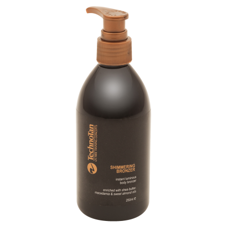 Shimmering Bronzer - Tamarillo & Papaya — 250mL (pump bottle)