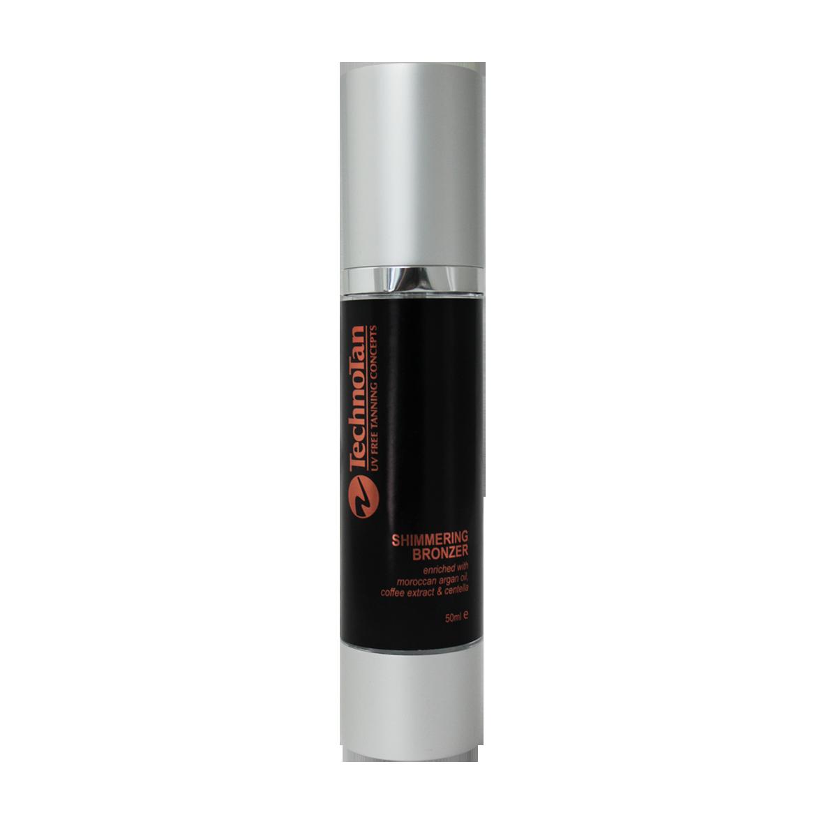Shimmering Bronzer - Tamarillo & Papaya - 50ml (airless pump)