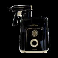 ProMist Plus Application Kit — Metallic Black & Gold ProMist Plus Compressor, Metallic Black & Gold ProMist Gun, Spare Pot & Hose