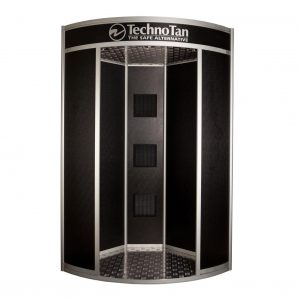 TechnoTan Corner Spray Tanning Pod 1000 (3 Extraction Fans)
