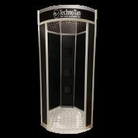 TechnoTan Hexagonal Spray Tanning Pod (3 Extraction Fans) - LED Lights