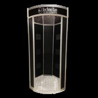 TechnoTan Hexagonal Plus Spray Tanning Pod (6 Extraction Fans) - LED Lights