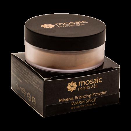 Mosaic Minerals Warm Spice Bronzing Powder — 1g Trial Size