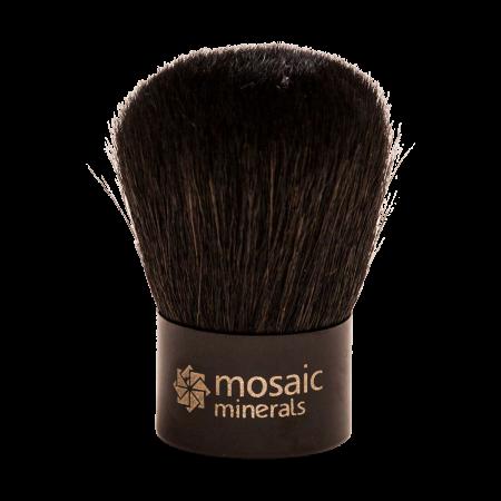 Premium Synthetic Hair Brush — Mini Kabuki
