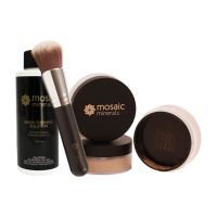 Pack 2: Foundation, Bronzer and Brush